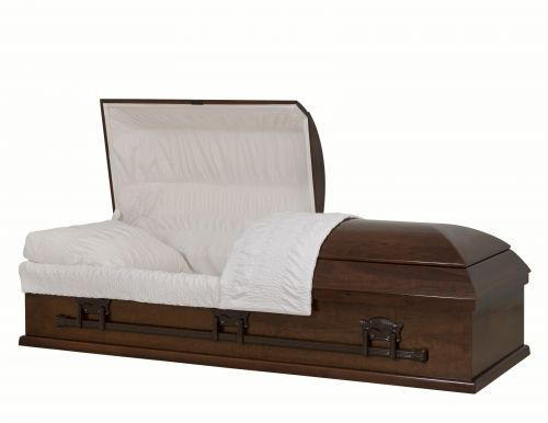 Concept Caskets 10U00-00002-N POPLAR CASKET SATIN TAFFETA DARK WALNUT WOOD FIBER YES 909     3 X 0 BRONZE