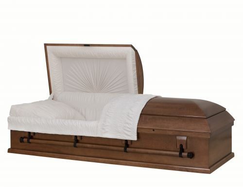 Concept Caskets 10U00-00036-N POPLAR CASKET SATIN  TAFFETA  MEDIUM  WOOD FIBER YES W1540N-1    4 X 0 BLACK