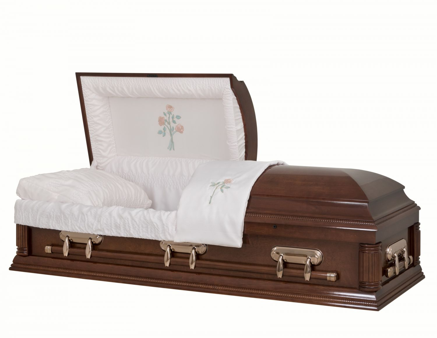 Concept Caskets 18204-00806-N POPLAR CASKET POLISHED  CREPE  CHERRY  MATRESS YES H2110-1    3 X 1 COPPER