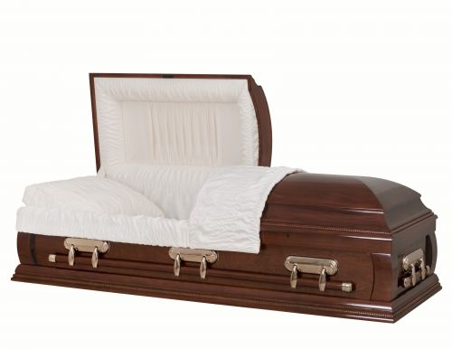 Concept Caskets 18216-00016-N POPLAR CASKET POLISHED  CREPE  CHERRY  MATRESS YES H2110-1    3 X 1 COPPER