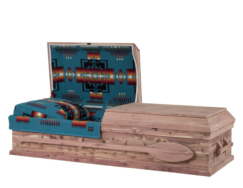 Concept Caskets 30W15-00003-N CEDAR CASKET NATURAL WOOLEN NATURAL WOOD FIBER NO WOOD STATIONNARY