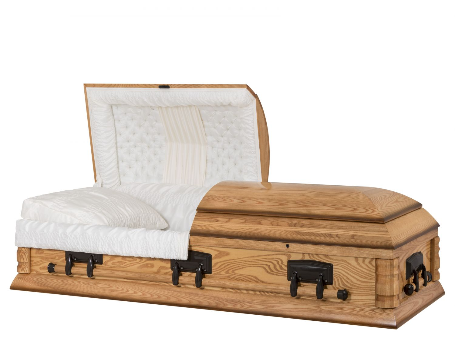Concept Caskets 40203-00143-N ASH CASKET GLOSS  CREPE  MEDIUM  MATRESS NO H1319-4    3 X 1 BRONZE