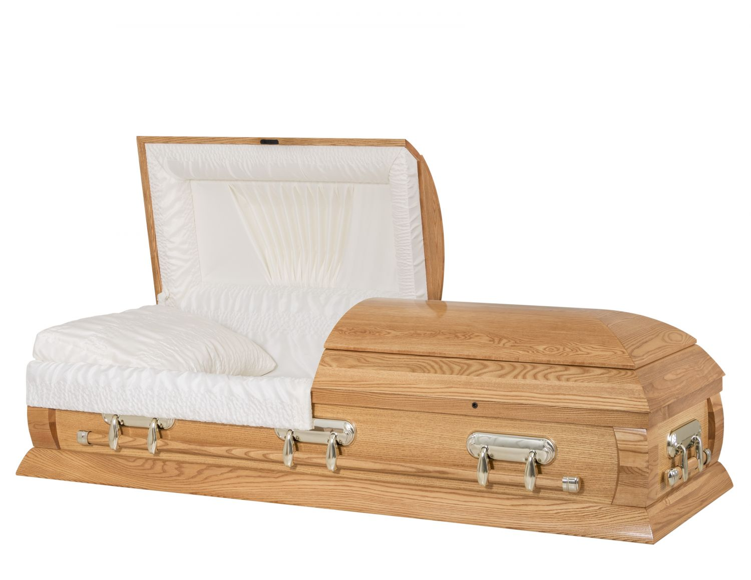 Concept Caskets 40216-00030-N ASH CASKET GLOSS CREPE MEDIUM WOOD FIBER NO H2510S-4    3 X 1 BRUNTONE