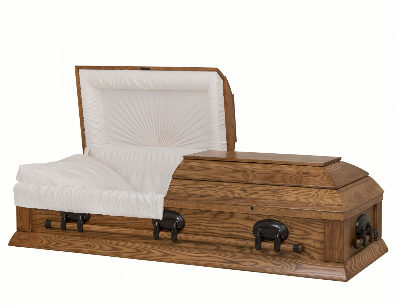 Concept Caskets 40217-00028-N ASH CASKET OPEN GRAIN  CREPE  DARK MEDIUM  WOOD FIBER NO H1111-4    3 X 1 BRONZE