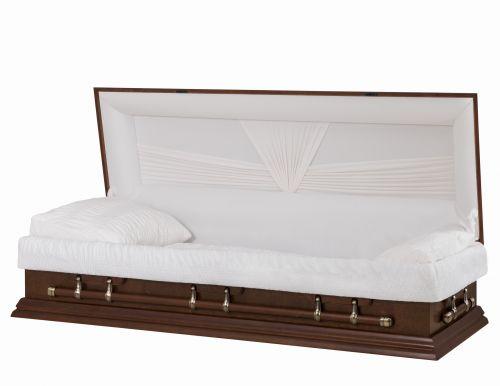 Concept Caskets 27915-00019-N POPLAR CASKET MAT NOVA VELVET TIERRA ADJUSTABLE BED NO E1462W-0    6 X 2 ANTIQUE GOLD