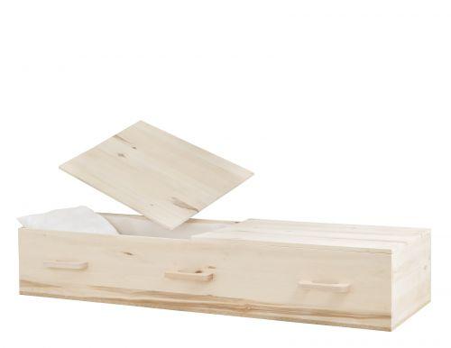 Concept Caskets 29D00-00009-N POPLAR CASKET NATURAL TAFFETA NATURAL WOOD FIBER NO WOOD STATIONNARY