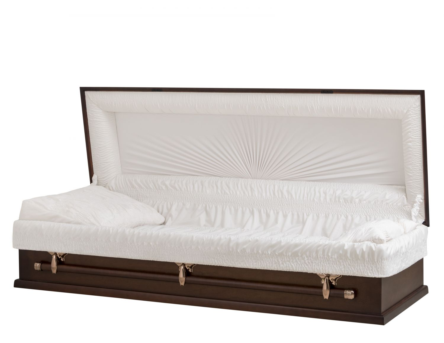 Concept Caskets 10X15-00001-N POPLAR CASKET OPEN GRAIN TAFFETA SOUTH MAHOGANY WOOD FIBER NO H3608C-1    3 X 0 COPPER