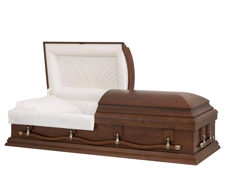 Concept Caskets 57L15-00009-N CHERRY CASKET MAT NOVA VELVET CHERRY LOCATION BED NO E3542W-5    4 X 2 ANTIQUE GOLD
