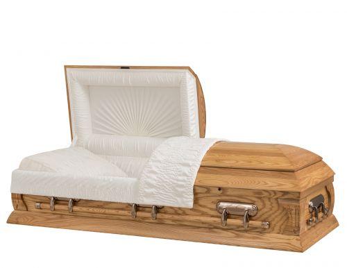Concept Caskets 40L27-00001-N ASH CASKET GLOSS CREPE MEDIUM RENTAL BED NO H2110-4    3 X 1 COPPER
