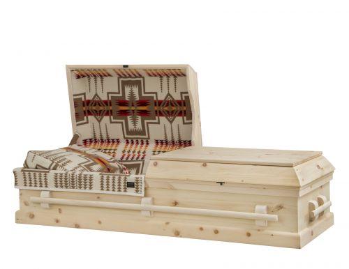 Concept Caskets 90W15-00009-N PINE CASKET NATURAL WOOLEN NATURAL WOOD FIBER NO STATIONNARY HANDLES